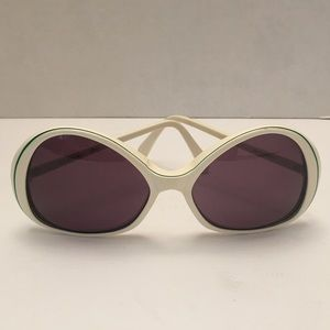 Vintage White Givenchy Sunglasses